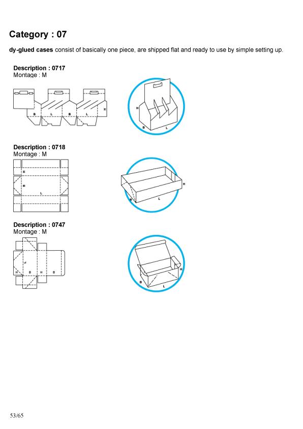 Упаковка из картона и микрогофрокартона
