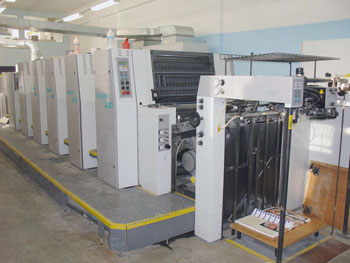 Печатная машина Manroland 300