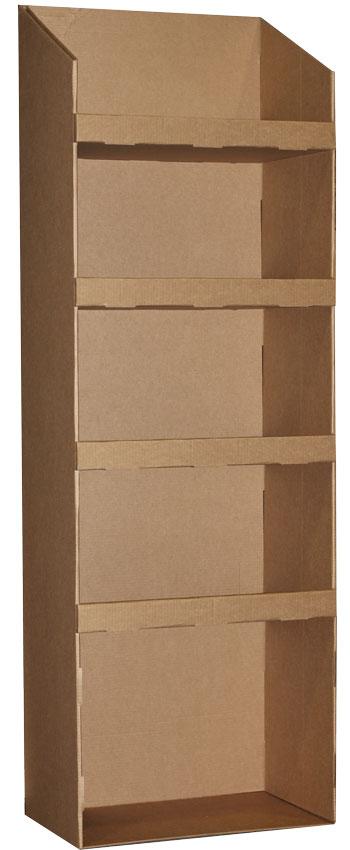 стойки для товара из картона